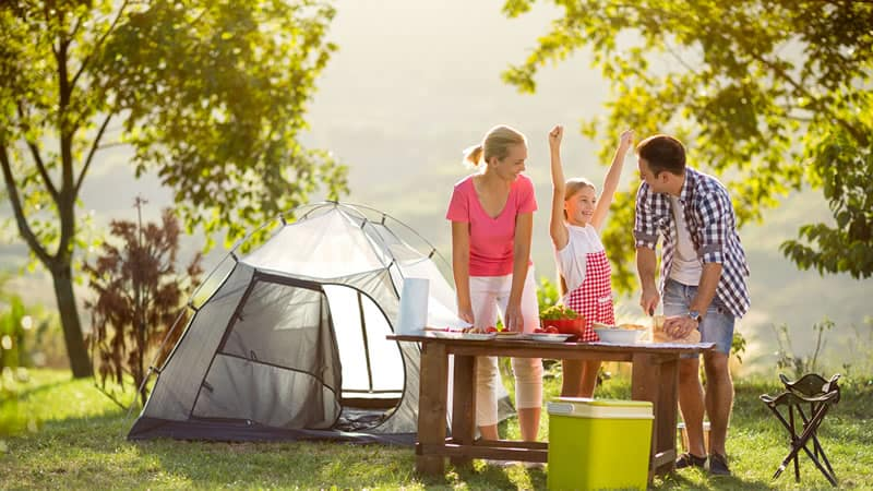 Camping in Norfolk - Some of the best campsites in the region