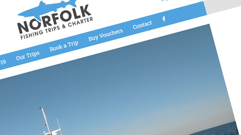 Norfolk Fishing Trips and Charter